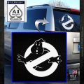 Ghostbuster Vinyl Decal Sticker CR White Emblem 120x120