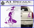 Harley Quin Sexy Pose Decal Sticker Purple Vinyl 120x97