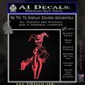 Harley Quinn Int Decal Sticker Pink Vinyl Emblem 120x120