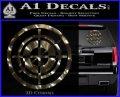 Hawkeye Target Scope emblem Drama Online Store Powered by Storenvy DLB Decal Sticker 3dc 120x97