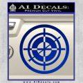 Hawkeye Target Scope emblem Drama Online Store Powered by Storenvy DLB Decal Sticker Blue Vinyl 120x120