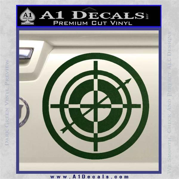 cea55f8ebdd ... Hawkeye Target Scope emblem Drama Online Store Powered by Storenvy DLB Decal  Sticker Dark Green Vinyl ...