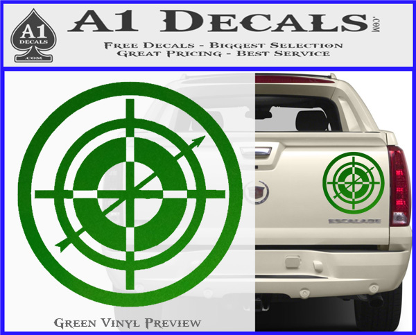 5a37924e7c3 ... Hawkeye Target Scope emblem Drama Online Store Powered by Storenvy DLB Decal  Sticker Green Vinyl 120x97 ...
