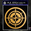 Hawkeye Target Scope emblem Drama Online Store Powered by Storenvy DLB Decal Sticker Metallic Gold Vinyl 120x120