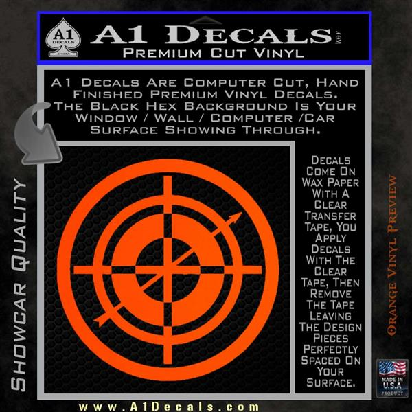 c8d9ed628b8 ... Hawkeye Target Scope emblem Drama Online Store Powered by Storenvy DLB Decal  Sticker Orange Vinyl Emblem ...