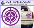 Hawkeye Target Scope emblem Drama Online Store Powered by Storenvy DLB Decal Sticker Purple Vinyl 120x97