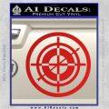 Hawkeye Target Scope emblem Drama Online Store Powered by Storenvy DLB Decal Sticker Red Vinyl 120x120