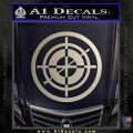 Hawkeye Target Scope emblem Drama Online Store Powered by Storenvy DLB Decal Sticker Silver Vinyl 120x120