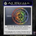 Hawkeye Target Scope emblem Drama Online Store Powered by Storenvy DLB Decal Sticker Sparkle Glitter Vinyl 120x120