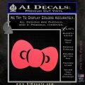 Hello Kitty Bow ALT Decal Sticker Pink Vinyl Emblem 120x120