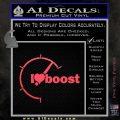 I Heart Boost Decal Sticker Heart Pink Vinyl Emblem 120x120