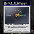 I Heart Boost Decal Sticker Heart Sparkle Glitter Vinyl 120x120