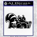 Ice Age Scrat Decal Sticker D1 Black Logo Emblem 120x120