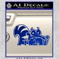 Ice Age Scrat Decal Sticker D1 Blue Vinyl 120x120