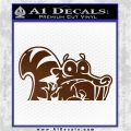 Ice Age Scrat Decal Sticker D1 Brown Vinyl 120x120