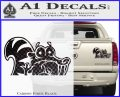 Ice Age Scrat Decal Sticker D1 Carbon Fiber Black 120x97