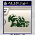 Ice Age Scrat Decal Sticker D1 Dark Green Vinyl 120x120