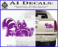 Ice Age Scrat Decal Sticker D1 Purple Vinyl 120x97