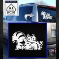 Ice Age Scrat Decal Sticker D1 White Emblem 120x120