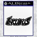 Incubus Rock Band Vinyl Decal Sticker Black Logo Emblem 120x120