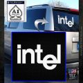 Intel Processors Decal Sticker White Emblem 120x120