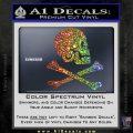 Jollly Roger Henry Every Crossbones Decal Sticker Sparkle Glitter Vinyl 120x120