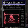 Jollly Roger Henry Every Pirate Flag INT Decal Sticker Pink Vinyl Emblem 120x120
