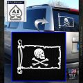 Jollly Roger Henry Every Pirate Flag INT Decal Sticker White Emblem 120x120