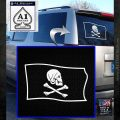 Jollly Roger Henry Every Pirate Flag SL Decal Sticker White Emblem 120x120