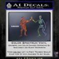 Jolly Roger Black Bart Crossbones D1 Decal Sticker Sparkle Glitter Vinyl 120x120