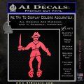 Jolly Roger Black Bart Crossbones D2 Decal Sticker Pink Vinyl Emblem 120x120