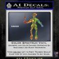 Jolly Roger Black Bart Crossbones D2 Decal Sticker Sparkle Glitter Vinyl 120x120