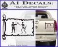 Jolly Roger Black Bart Pirate Flag INT D1 Decal Sticker Carbon Fiber Black 120x97