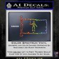 Jolly Roger Black Bart Pirate Flag INT D2 Decal Sticker Sparkle Glitter Vinyl 120x120