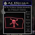 Jolly Roger Emanuel Wynne Pirate Flag SL Decal Sticker Pink Vinyl Emblem 120x120