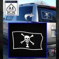 Jolly Roger Emanuel Wynne Pirate Flag SL Decal Sticker White Emblem 120x120