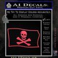 Jolly Rogers Edward England Pirate Flag SL Decal Sticker Pink Vinyl Emblem 120x120