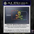 Jolly Rogers Edward England Pirate Flag SL Decal Sticker Sparkle Glitter Vinyl 120x120