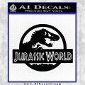 Jurassic World Decal Sticker Black Logo Emblem 1 120x120