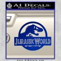 Jurassic World Decal Sticker Blue Vinyl 1 120x120