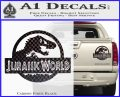 Jurassic World Decal Sticker Carbon Fiber Black 1 120x97
