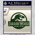 Jurassic World Decal Sticker Dark Green Vinyl 1 120x120