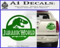 Jurassic World Decal Sticker Green Vinyl 1 120x97