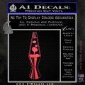 Lava Lamp Decal Sticker Pink Vinyl Emblem 120x120