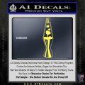 Lava Lamp Decal Sticker Yelllow Vinyl 120x120