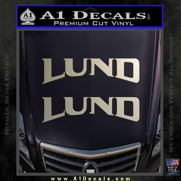 Lund Boats Logo Vinyl Decal Sticker 2pk 187 A1 Decals
