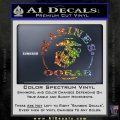 Marines oorah Decal Sticker Sparkle Glitter Vinyl 120x120