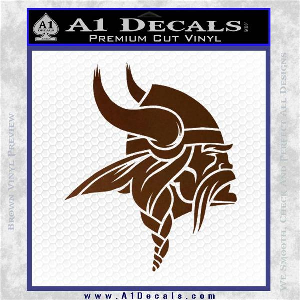 Minnesota Vikings Nfl Logo Decal Sticker 187 A1 Decals