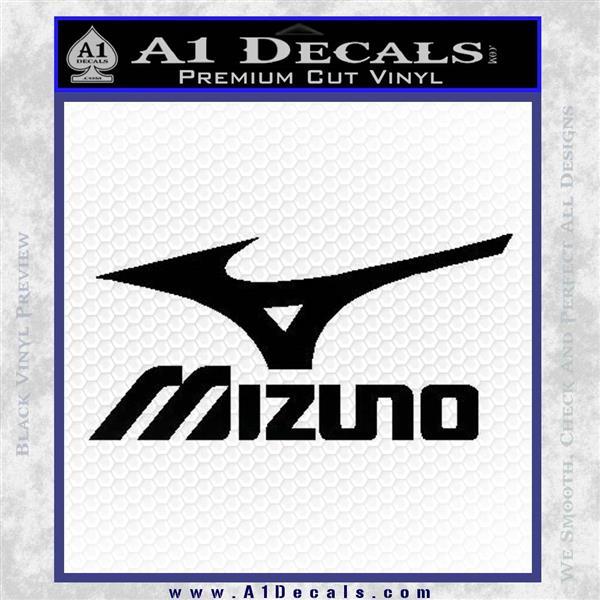 Mizuno Golf Decal Sticker DS Black Logo Emblem