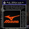 Mizuno Golf Decal Sticker DS Orange Vinyl Emblem 120x120